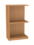 900 High Single Sided Flat Top BookCase - ADD ON