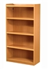 1500 Single Sided Flat Top Bookcase - STARTER