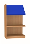 900 Single Sided Display Top Bookcase - Add-On Unit 523
