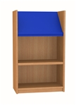 900 Single Sided Display Top Bookcase - Starter Unit 541