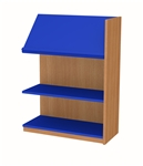 900 Single Sided Display Top Bookcase - Add-On Unit 686