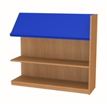 900 Single Sided Display Top Bookcase - Add-On Unit 1029