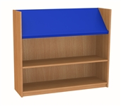 900 Single Sided Display Top Bookcase - Starter Unit 1047