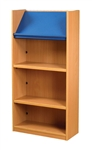1200 Single Sided Display Top Bookcase - Add-On Unit 523