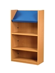 1200 Single Sided Display Top Bookcase - Add-On Unit 686