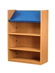 1200 Single Sided Display Top Bookcase - Starter Unit 1047