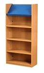 1500 Single Sided Display Top Bookcase - Add-On Unit 523