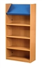 1500 Single Sided Display Top Bookcase - Starter Unit 541