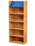 1800 Single Sided Display Top Bookcase - Starter Unit 541