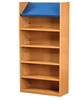 1800 Single Sided Display Top Bookcase - Starter Unit 704