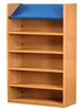 1800 Single Sided Display Top Bookcase - Add-On Unit 1029