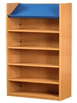 1800 Single Sided Display Top Bookcase - Starter Unit 1047