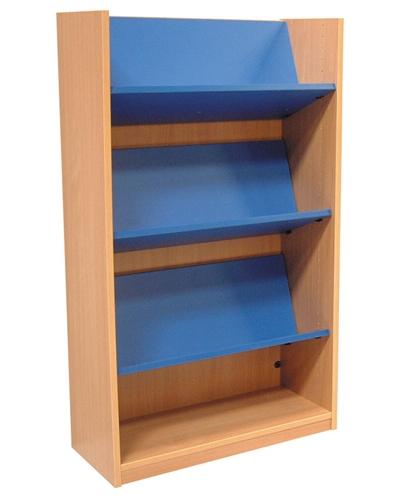 1200 Single Sided Reversible Shelf Bookcase Starter 704