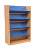 1500 Single Sided Reversible Shelf Bookcase - Add-On 1029