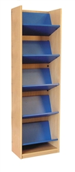 1800 Single Sided Reversible Shelf Bookcase - Add-On 523