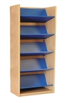 1800 Single Sided Reversible Shelf Bookcase - Add-On 686