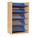1800 Single Sided Reversible Shelf Bookcase - Starter 1047