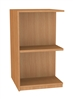 900 Double Sided Flat Shelf Bookcase - Add-On Unit 686