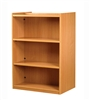 1200 Double Sided Flat Shelf Bookcase - Add-On Unit 686