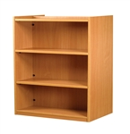 1200 Double Sided Flat Shelf Bookcase - Add-On Unit 1029