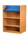 1200 Double Sided Display Top Bookcase - Add-On Unit 1029