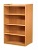 1500 Double Sided Flat Shelf Bookcase - Starter Unit 704
