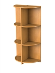 Semi Circular bookcase for D/S Nexus 1200