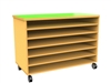 Mobile A1 paper/ shelf storage unit.