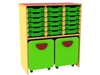 18 tray storage docking unit (pull-out boxes sold seperately)