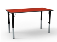 Rectangular Height Adjustable Table