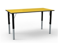 Rectangular MDF Height Adjustable Table
