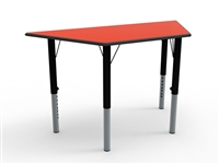 Trapizoidal MDF Height Adjustable Table