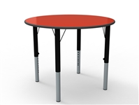 Circular MFC Height Adjustable Table