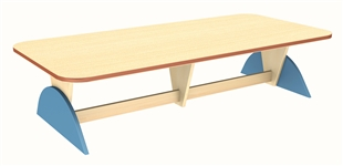 Luna Rectangle Table 350mm