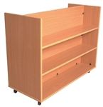 FLAT Shelf Book Trolley