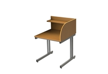 S/S Cantilever Study Carell - Add-on (inc frame)