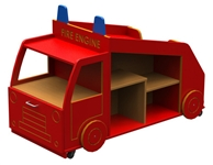 Micro Fire Engine Book Store and Display