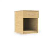 Repton Bedside Cabinet: single drawer