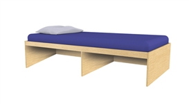 Repton Standard Single Bed without headboard.