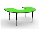 Horeseshoe  Height Adjustable Table