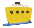 Yellow Boat Divider