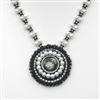 BEADING INSTRUCTIONS > Bead Embroidered Pendant