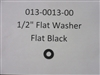 1/2 Flat Washer - Flat Black - Bad Boy Part# 013-0013-00