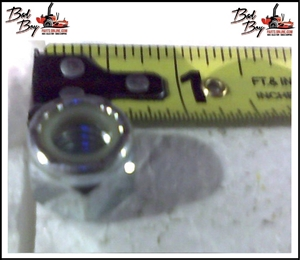 3/8-16 Nylon Insert Locknut Zinc - Bad Boy Part # 013-5041-00