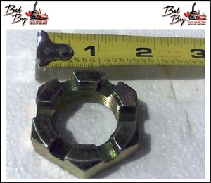 "1"" Castle Nut for Wheel Motor - Bad Boy Part # 013-7050-00"