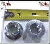 1/2-13 Nylon Insert Flange Nut - Bad Boy Part # 013-8050-00