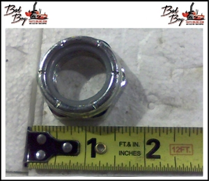 "1"" Nylock Nut 1/2 Nut - Fine - Bad Boy Part # 013-9004-00"