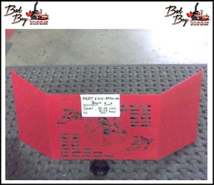 AOS Back Pump Cover 2008 - Bad Boy Part# 014-5940-00