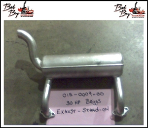 Exhaust-Stand On-30hp Briggs - Bad Boy Part # 015-0009-00