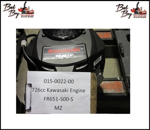 726cc Kawasaki Engine-FR651V- Bad Boy Part # 015-0022-00